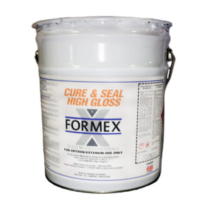Curing and Sealing – Form and Build Supply Inc