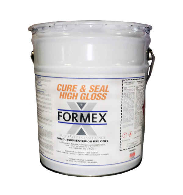 Photo of Formex Cure N' Seal High-Gloss (5-Gallon)