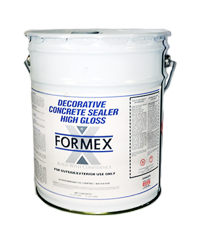Photo of Formex Decorative High-Gloss Concrete Sealer