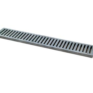 Photo of NDS 2′ Spee-D Drain Channel Grate, Gray