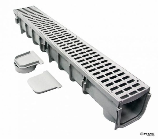 Photo of NDS 5″ Pro Series Channel Drain Kit