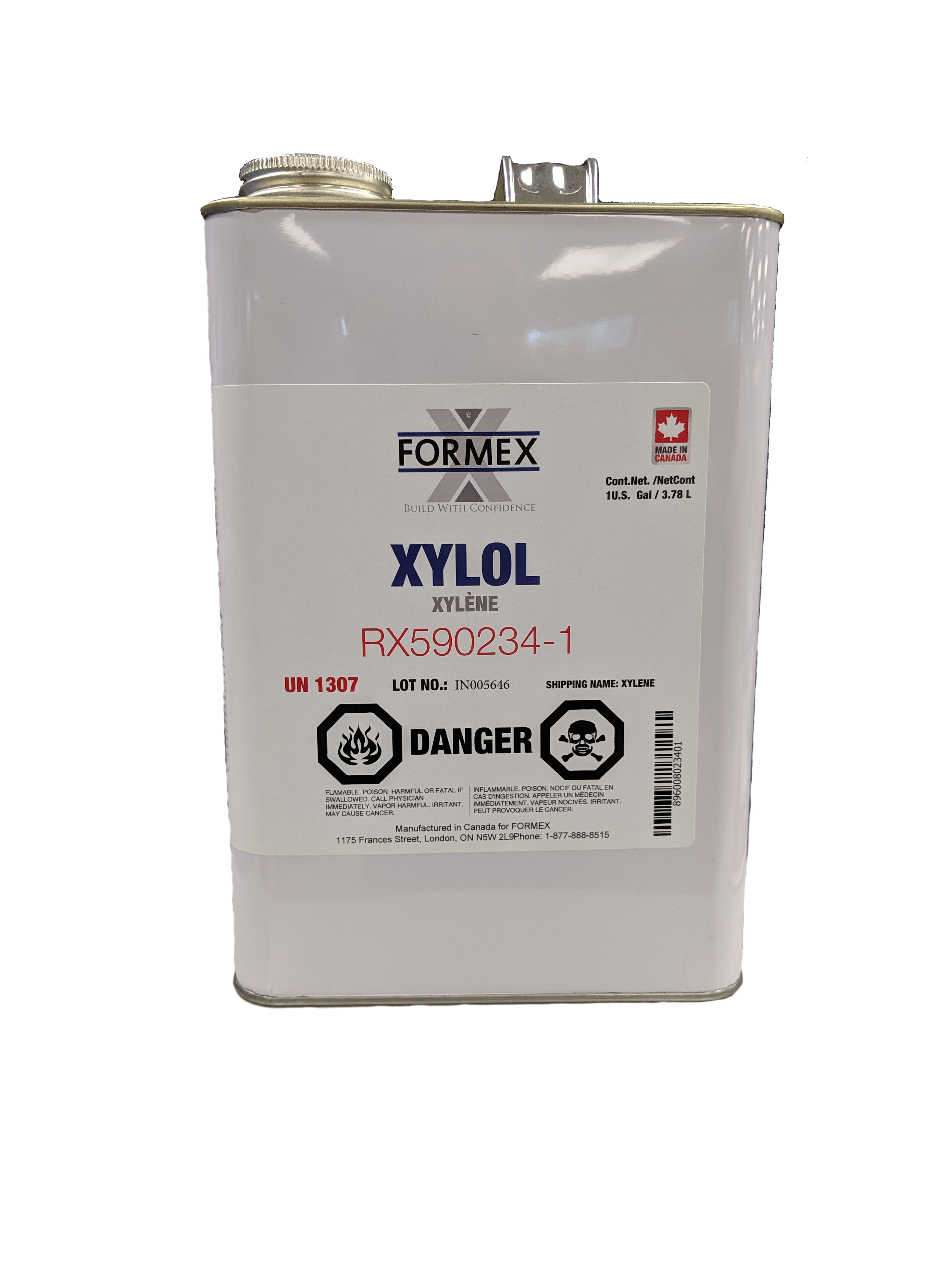 Formex Xylene (Xylol) Solvent Cleaner – Form and Build Supply Inc