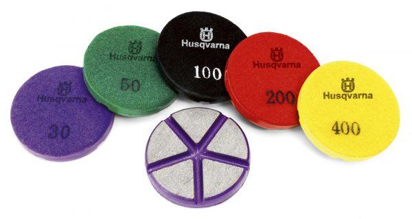 Photo of Husqvarna P1200 Series Resin Polishing Pads