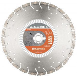 Photo of Husqvarna 14″ x .125″ HS-5 Vanguard Dimaond Blade