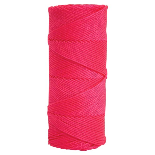 Photo of Kraft Braided Pink Mason Line, 250′