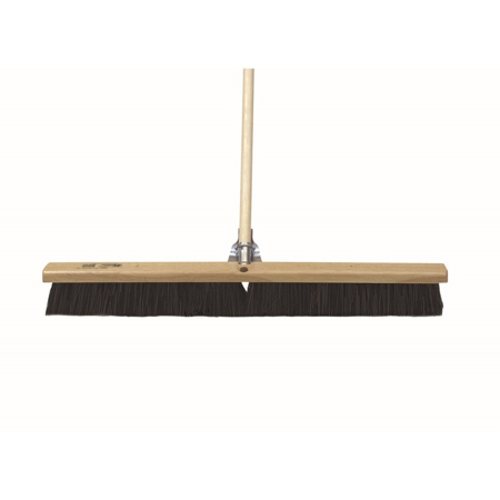 Photo of Kraft 36″ All-Purpose Horsehair Floor & Finish Broom with Handle