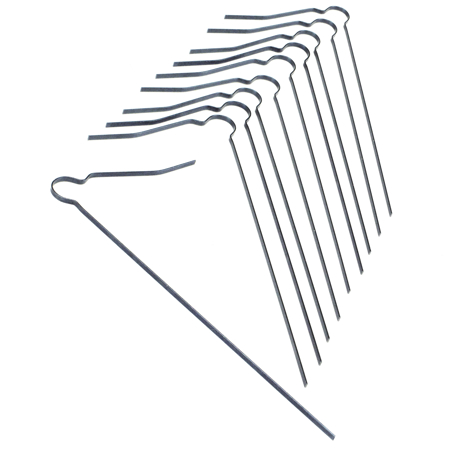 Photo of Kraft Replacement Tines for Flat Wire Texture Broom (Package of 10)