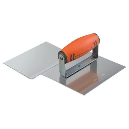 Photo of Kraft Stainless Steel Driveway Approach Tool 9″ x 6″ 1″R with ProForm Handle