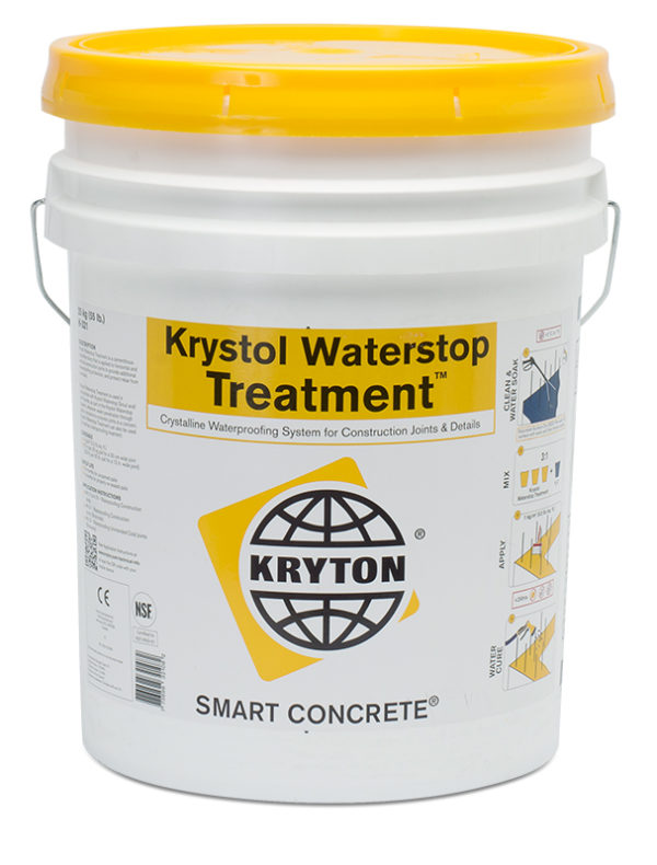 Photo of Kryton Krystol Waterstop Treatment