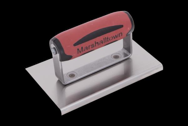 Photo of Marshalltown 6″ x 4″ SS Edger – Straight Ends w/DuraSoft Handle