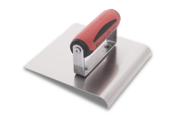 Photo of Marshalltown 6″ x 6″ SS Edger – Straight Ends w/DuraSoft Handle
