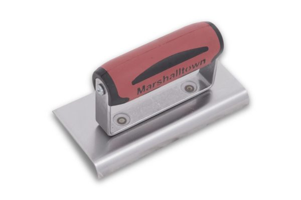 Photo of Marshalltown 6″ x 3″ Edger – Striaght Ends w/DuraSoft Handle