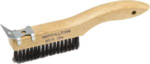 Photo of Marshalltown 10″ Wire Scratch Brush w/Scraper