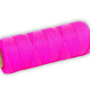 Photo of Marshalltown 1000′ Twisted Nylon Mason's Line  – Pink