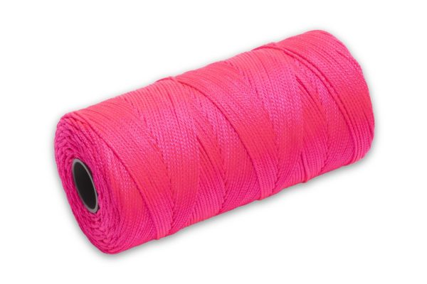 Photo of Marshalltown 1000′ Braided Nylon Mason's Line – Pink
