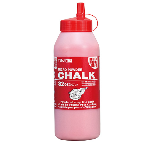 Photo of Tajima 32oz. Micro Powder Marking Chalk – Red