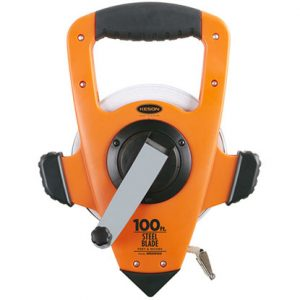 Photo of Keson 100′  Nylon-Steel Measuring Tape Reel