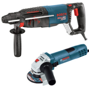 Photo of Bosch 1″ SDS Drill Plus BulldogRotary Hammer with Grinder Kit