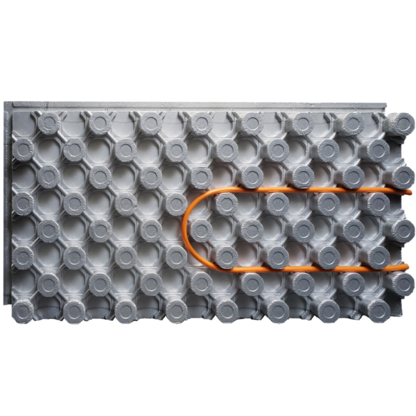 Photo of Amvic Ampex 3-3/8″ x 2′ x 4′ Insulated Radiant Floor Heating Panel