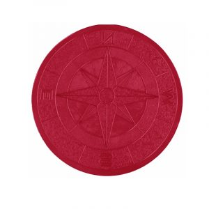 Photo of Proline 4′ Compass Medallion Stamp