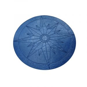 Photo of Proline 4′ Nautical Star Medallion Stamp