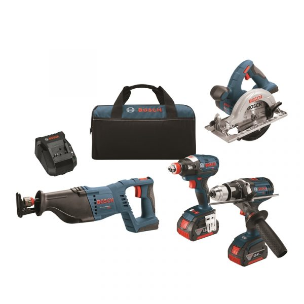 Photo of Bosch CLPK430-181 18V 4-PC Tool Kit