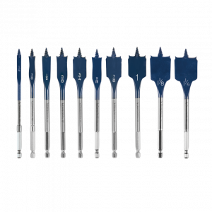 Photo of Bosch 10-PC DareDevil Spade Bit Set