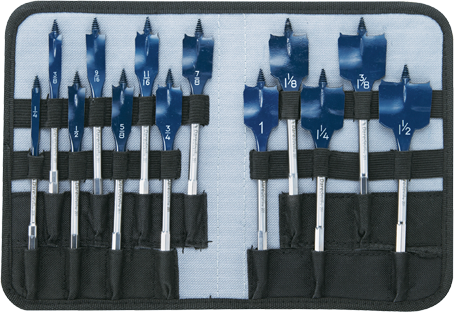 Photo of Bosch 13-PC DareDevil Spade Bit Set with Case