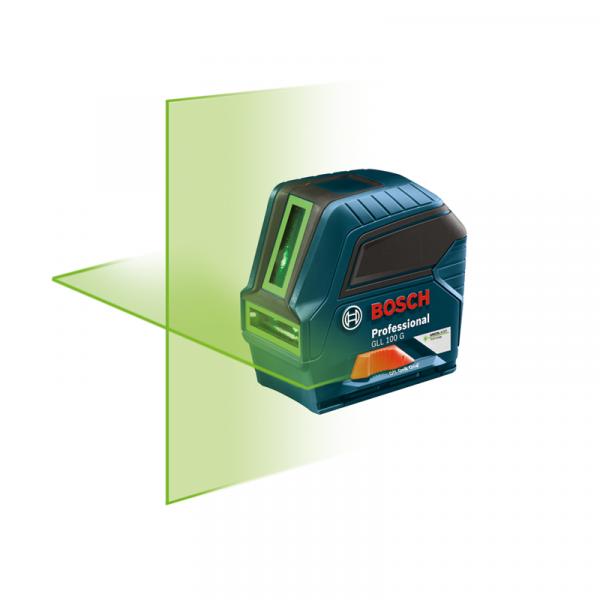 Photo of Bosch GLL100G Green Beam Self-Leveling Cross-Line Laser