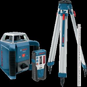 Photo of Bosch GRL400HCK Rotary Laser Kit