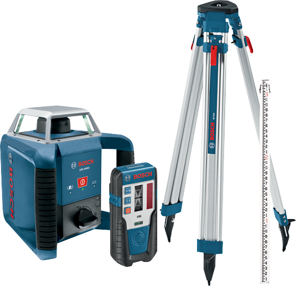 Photo of Bosch GRL400HCK Rotary Laser Kit