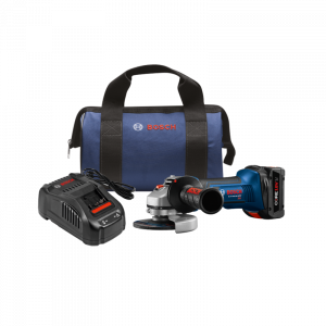 Photo of Bosch GWS18V-45B14 18V Grinder Kit with 6.3AH Battery