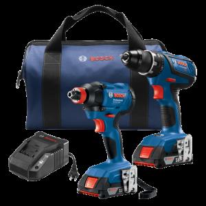 Photo of Bosch GXL18V-232B22 2-PC Drill/Driver Combo Kit