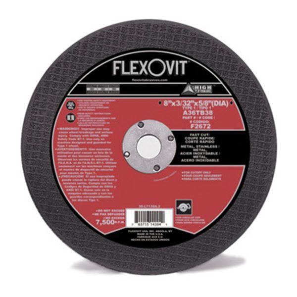 Photo of Flexovit 8″ x 3/32″ x 5/8″ Circular Saw Cut-Off Wheel