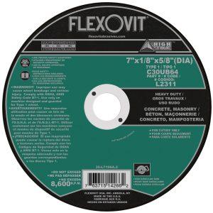 Photo of Flexovit 7″ x 1/8″ x 5/8″ Circular Saw Cut-Off Wheel