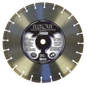 Photo of Flexovit 14″ x 0.125″ x 1″ Green Concrete Diamond Blade