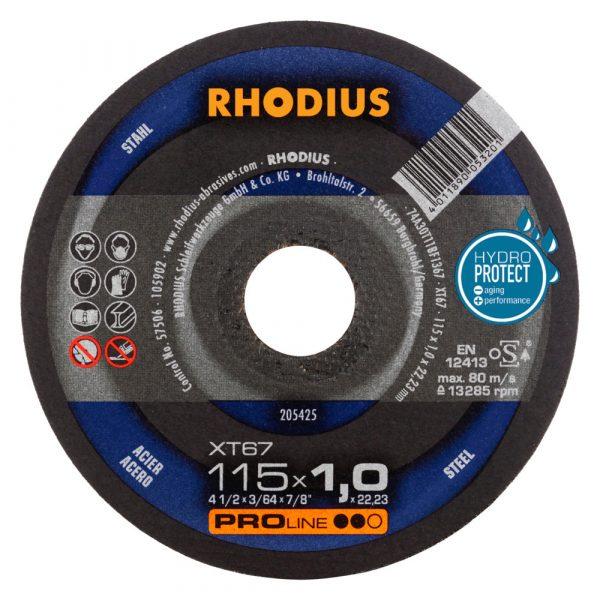 Photo of Rhodius 4-1/2″ x 1-/16″ x 7/8″ XT67 Cut-Off Wheel