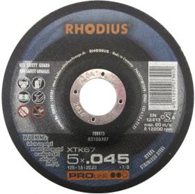 Photo of Rhodius 5″ x .045″ x 7/8″ XTK67 Cut-Off Wheel