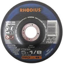 Photo of Rhodius 5″ x 1-/8″ x 7/8″ FT33 Cut-Off Wheel