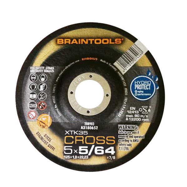 Photo of Rhodius 5″ x 5/64″ x 7/8″ XTK35 Cross Cut-Off Wheel