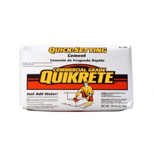 Photo of Quikrete Quick Setting Cement – 22.7KG Bag