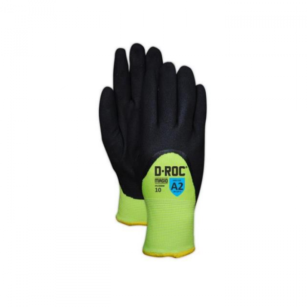 Photo of Magid ROC® Hi-Viz Thermal Coated Work Gloves
