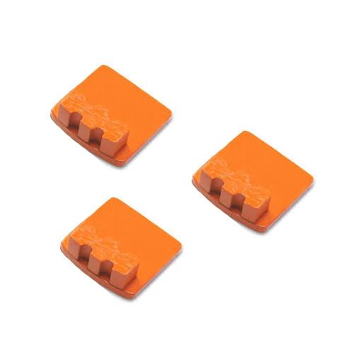 Photo of Husqvarna Redi Lock® 20-Grit Single Segments – Orange (3-Pack)