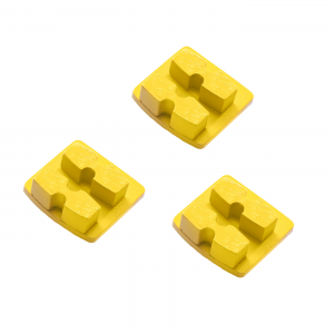 Photo of Husqvarna Redi Lock® 30-Grit Double Segments – Yellow (3-Pack)