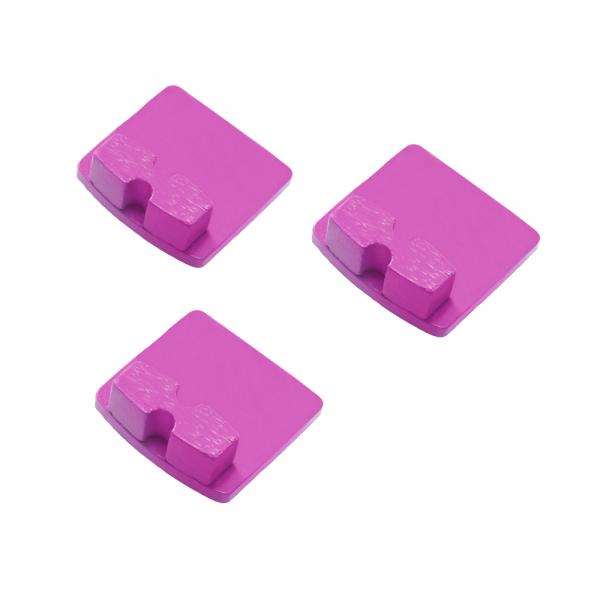 Photo of Husqvarna Redi Lock® 20-Grit Single Segments – Pink (3-Pack)