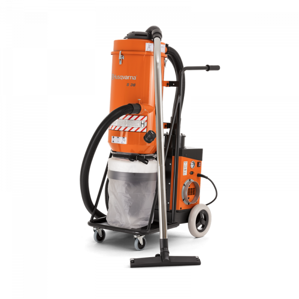 Photo of Husqvarna S 36 HEPA Single-Phase Dust Collector Vacuum