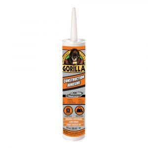 Photo of Gorilla Glue Construction Adhesive – 266ml Tube (Tan)