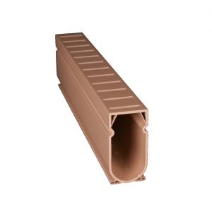 Photo of Stegmeier Deck Drain – 10′ Length (Tan)