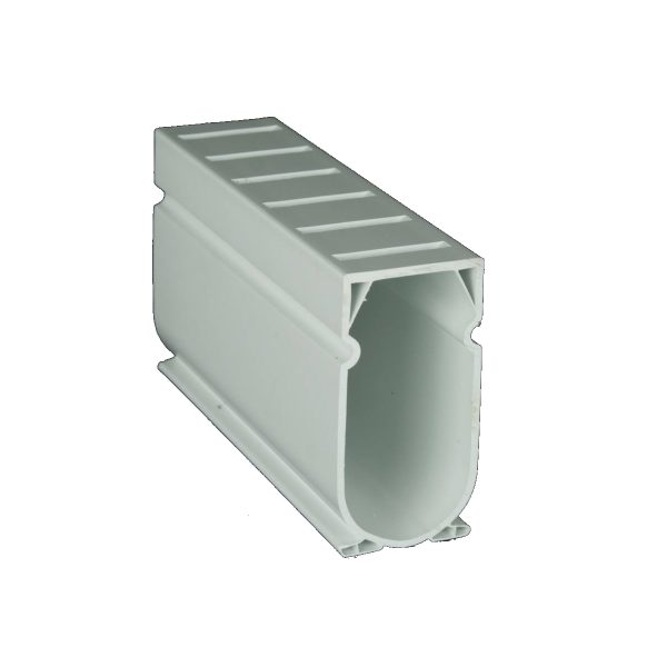 Photo of Stegmeier Deck Drain – 10′ Length (White)