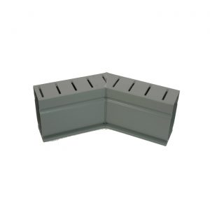 Photo of Stegmeier Deck Drain 45-Degree Corner Piece (Gray)